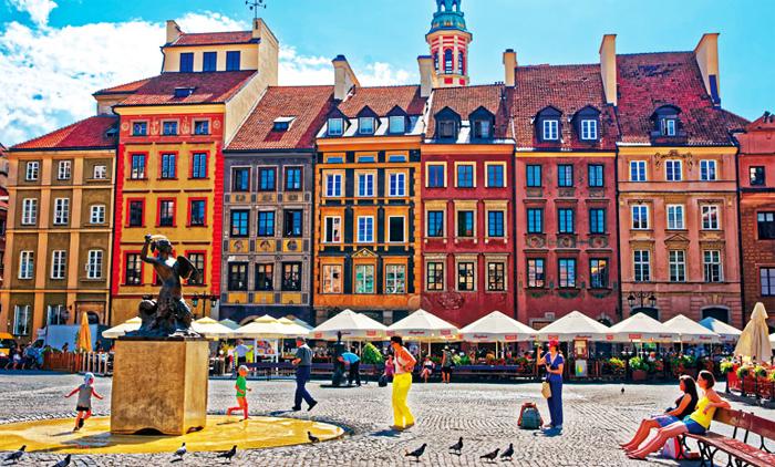 Βαρσοβία: Αεροπορικά εισιτήρια (συμπεριλαμβάνονται φόροι) και διαμονή για 4 ημέρες / 3 νύχτες σε κεντρικό ξενοδοχείο 3* με πρωινό σε μπουφέ. (140€/άτομο)