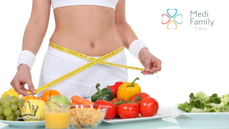 Γρήγορη απώλεια βάρους με τμηματική ανάλυση σύστασης σώματος – αιματολογικός έλεγχος- εκτίμηση διατροφικού Profil, στο Medi Family Athens στο Κέντρο (Μουσείο) (9€)