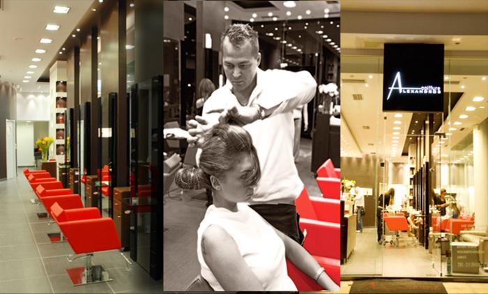Πακέτα περιποίησης άκρων με επιλογή από μανικιούρ - πεντικιούρ με χρώμα ή γαλλικό στο Alexandros Coiffure Hair Specialist στο Νέο Ηράκλειο (από 8€).