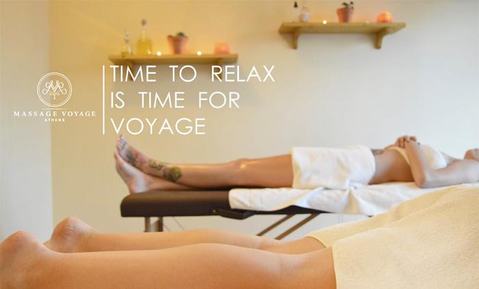 Χαλαρωτικό μασάζ σώματος, κεφαλής ή αθλητικό μασάζ & επιπλέον επιλογή με παραδοσιακές βεντούζες στο Massage Voyage στο Αιγάλεω (πλησίον Μετρό Αγία Μαρίνα) (από 14,90€).